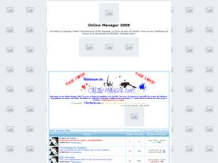 Online Manager 2009
