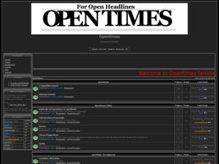 Opentimes ~ The Time Is Here
