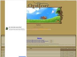 Bienvenue sur le forum de la Guild Option !