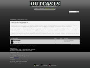 Outcasts [SOA] Alliance Senatorial Forum
