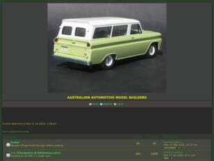 Australian Automotive Model Builders