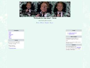 PA Broads for Clay Aiken - Message Board for CLAY