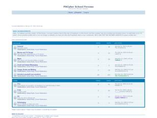 PACyber School Forums