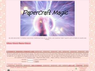 Free forum : Papercraft Magic