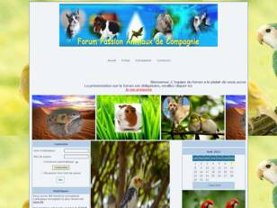 Forum  passion  animaux de compagnie
