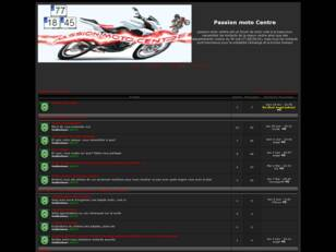 creer un forum : Passion moto Centre
