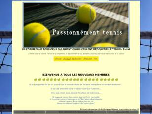 Forum tennis : Passionnement Tennis