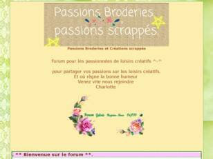 Passions Broderies Créations