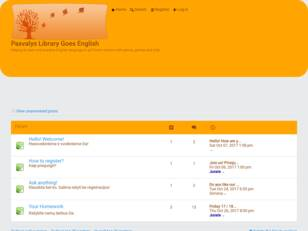Pasvalys Library Goes English