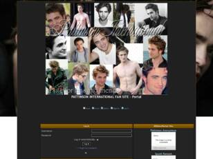 Free forum : Robert Pattinson International is a fan site dedicated to
