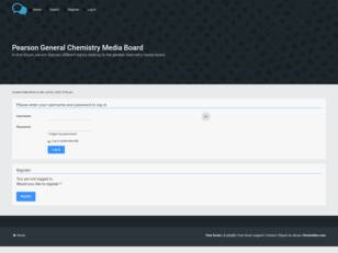 Pearson General Chemistry Media Board