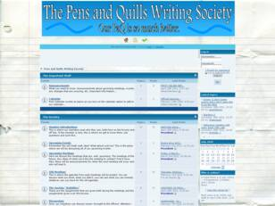 Pens and Quills Writing Society