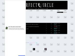 creer un forum : Perfect Circle