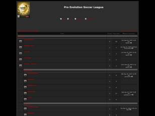 Foro gratis : Pro Evolution Soccer Leagues