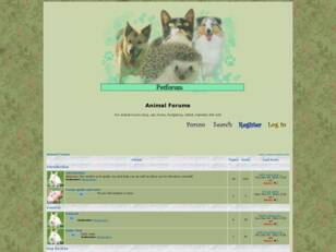 Petforum - for pet owners