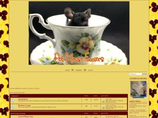 Pet Mouse Fanciers Forum