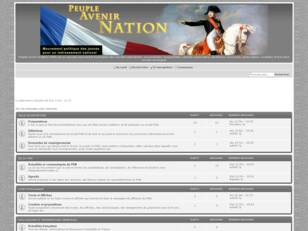 forum politique france Peuples Avenir & Nation