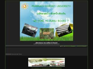 pharmacy rsu online @ board