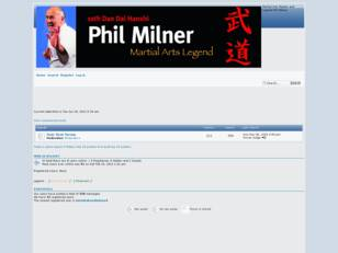 Free forum : Phil Milner: Legend
