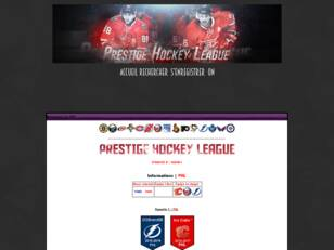 Prestige Hockey League