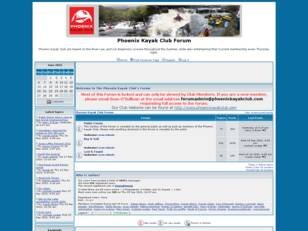 Phoenix Kayak Club Forum