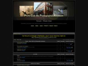 creer un forum : Forum - Photo Club