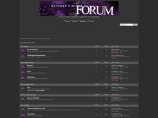 Photoshop Challenge: The Forum