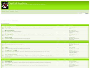 Free forum : Piano Music Sheet Forum