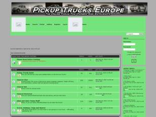 Welcome to Pickup Trucks Europe