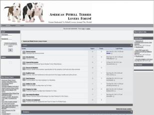 Pitbull Lovers Forum