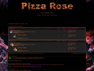 Forumactif.com : Pizza Rose