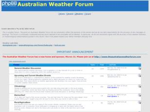 Free forum : Australian Weather Forum