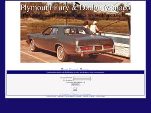 Plymouth Fury and Dodge Monaco