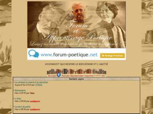 Forum poetique