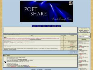 Poet Share Poetry Forums