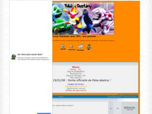 Forum Pokemon avec RPG, une pension ...