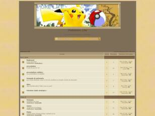 Forum gratuit : Pokemon Life