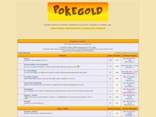 Forum PokéGold : news, distributions pokémon...