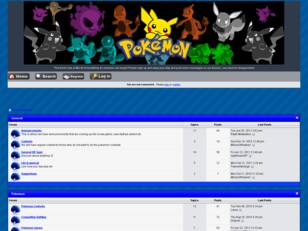 Pokemon Forum