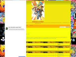 creer un forum : Pokemon en folie!!