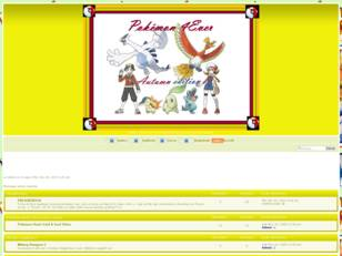 Forum gratis : pokemon 4ever
