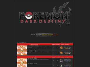 Pokemon Dark Destiny