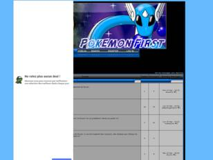 creer un forum : pokemon first