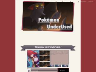 Forumactif.com : Pokemon UnderUsed