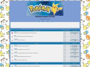 PokémonLegend Forums