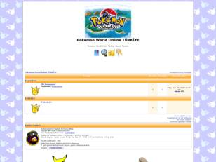 Pokemon World Online TÜRKİYE