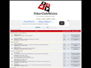 Foro gratis : All In!, Poker Club México