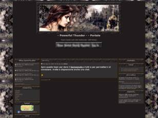 Forum gratis : Powerful Thunder