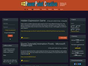 PowerPoint Creative Forum