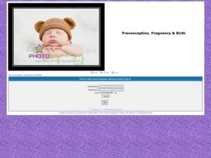 Preconception, Pregnancy & Birth
